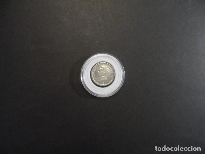 Monedas de España: 50 CENTIMOS DE PLATA ALFONSO XIII. REINO DE ESPAÑA. SM.V. AÑO 1904 0**4** S.C.. - Foto 3 - 286143518