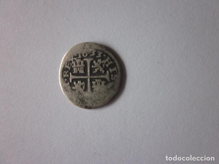 MEDIO REAL DE FELIPE IV. SEGOVIA R. 1633. PLATA. RARO. (Numismática - España Modernas y Contemporáneas - De Reyes Católicos (1.474) a Fernando VII (1.833))