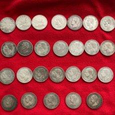 Monedas de España: 30 DUROS PLATA 5 PESETAS 1870-1898. Lote 286614218