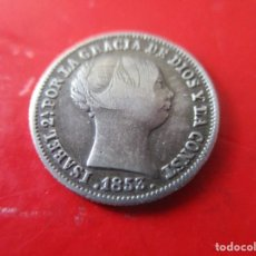 Monnaies d'Espagne: ISABEL II. UN REAL DE PLATA 1853 BARCELONA. Lote 286820273