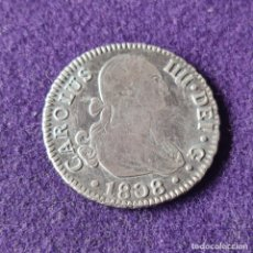Monedas de España: MONEDA DE CARLOS IV. 1808. SEVILLA. 2 REALES. PLATA. ORIGINAL. PRECIOSA.. Lote 287264848