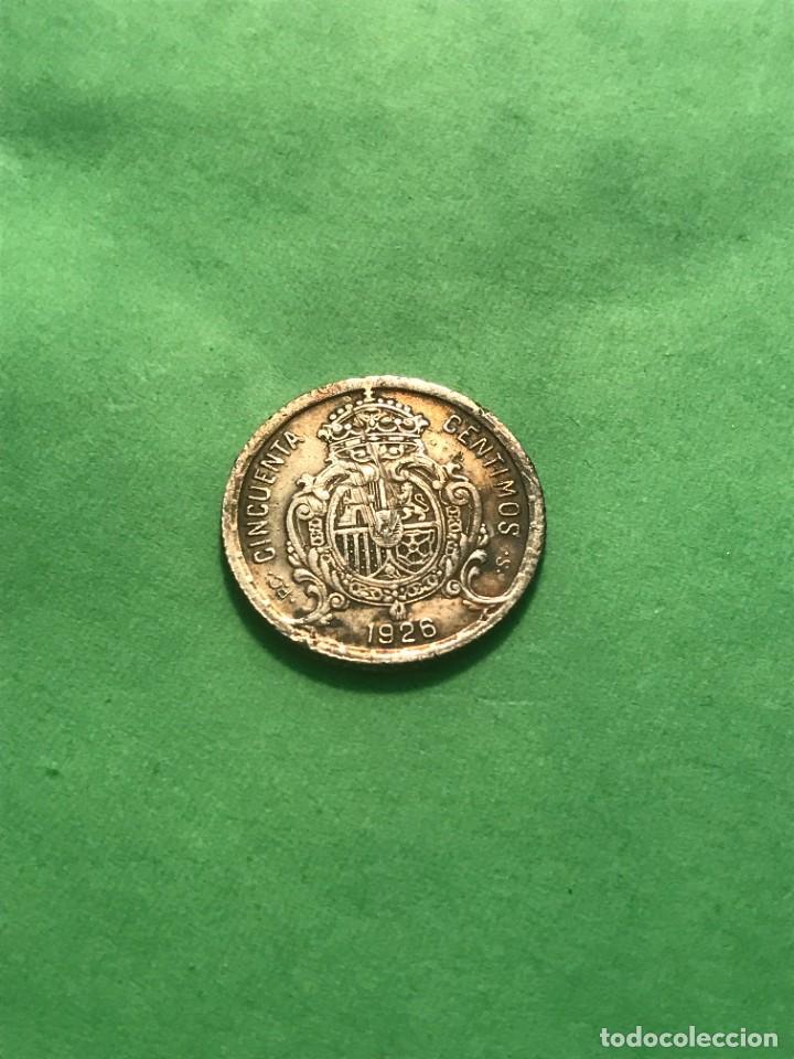 MONEDA COIN 50 CENTIMOS 1926 ESPAÑA ALFONSO XIII PLATA!!! (Numismática - España Modernas y Contemporáneas - De Isabel II (1.834) a Alfonso XIII (1.931))