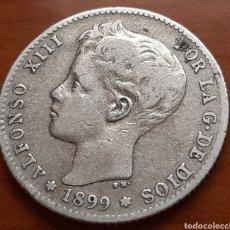 Monnaies d'Espagne: 1 PESETA DE PLATA DE 1899 DE ALFONSO 13. Lote 287612143