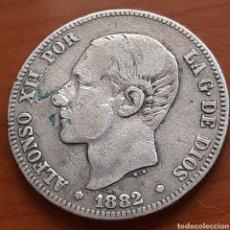 Monedas de España: 2 PESETAS DE PLATA DE 1882 DE ALFONSO 12. Lote 287612838