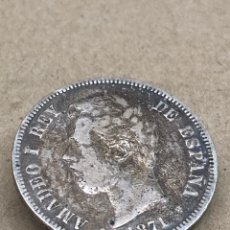 Monedas de España: MONEDA DE PLATA 5 PESETAS 1871. Lote 287694283