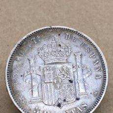 Monedas de España: MONEDA DE PLATA 5PESETAS 1885. Lote 287695313