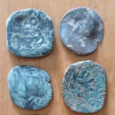 Monete da Spagna: LOTE 6 MONEDAS ANTIGUAS ESPAÑOLAS FELIPILLOS. Lote 287702103