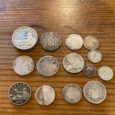 Monnaies d'Espagne: LOTE DE 110 GR DE PLATA EN MONEDAS ESPAÑOLAS. Lote 287722918