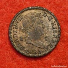 Monedas de España: MONEDA COBRE FERNANDO VII 4 MARAVEDIS 1825 SEGOVIA EBC ORIGINAL C8. Lote 287739643