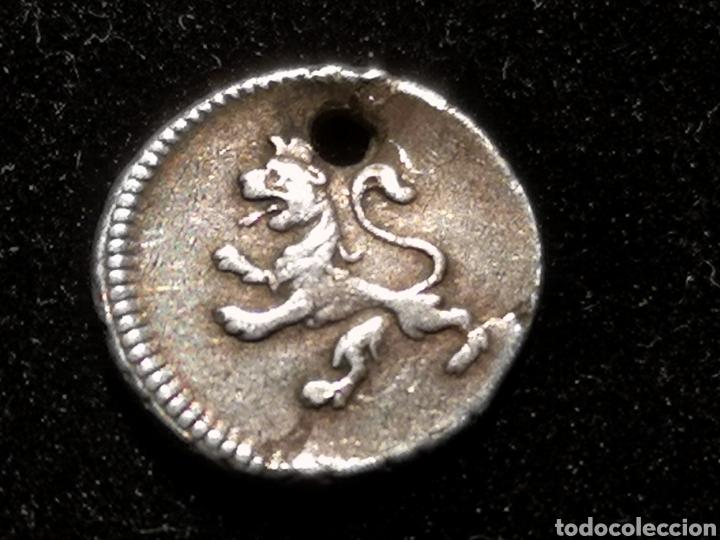 Monedas de España: 1/4 de real Carlos IV 1795 lima JL - Foto 2 - 288150108