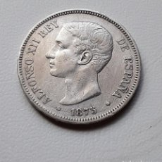 Monedas de España: ALFONSO XII 5 PESETAS PLATA 1875 *X8-75 DEM MBC-. Lote 288157588