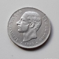 Monedas de España: ALFONSO XII 5 PESETAS PLATA 1885 *18-87 MSM MBC. Lote 288158983