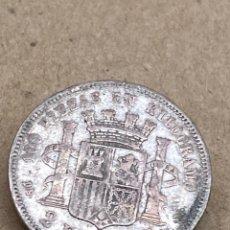 Monedas de España: MONEDA DE PLATA 2 PESETAS 1870. Lote 288529788