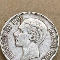 Monedas de España: MONEDA DE PLATA 5 PESETAS 1878 DE M. Lote 288534633