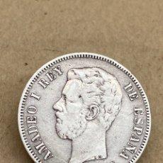Monedas de España: MONEDA DE PLATA 5 PESETAS 1871 DE M. Lote 288535773