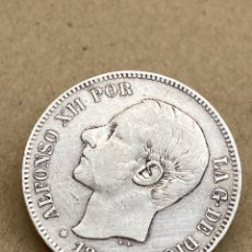 Monedas de España: MONEDA DE PLATA 5 PESETAS 1884. Lote 288540048