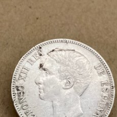 Monedas de España: MONEDA DE PLATA 5 PESETAS 1875. Lote 288540953