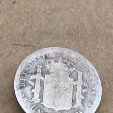 Monedas de España: MONEDA DE PLATA UNA PESETA 1901. Lote 288614943