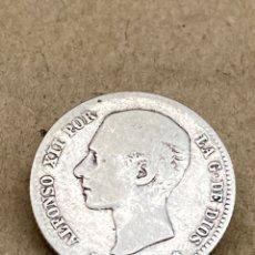 Monedas de España: MONEDA DE PLATA UNA PESETA 1876. Lote 288617298
