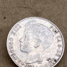 Monedas de España: MONEDA DE PLATA UNA PESETA 1896. Lote 288619093