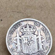 Monedas de España: MONEDA DE PLATA UNA PESETA 1904. Lote 288621453
