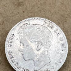 Monnaies d'Espagne: MONEDA DE PLATA UNA PESETA 1899. Lote 288626438