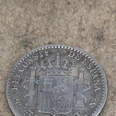 Monedas de España: MONEDA DE PLATA 0,50CENT 1910. Lote 288643728