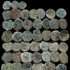 Monedas de España: MONARQUIA ESPAÑOLA, EPOCA AUSTRIAS, LOTE 50 MONEDAS.. Lote 288971213