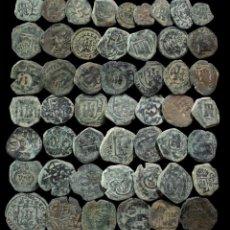 Monedas de España: MONARQUIA ESPAÑOLA, EPOCA AUSTRIAS, LOTE 50 MONEDAS.. Lote 288971838