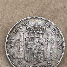Monedas de España: MONEDA DE PLATA 2 PESETAS 1879. Lote 289419633
