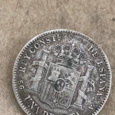 Monedas de España: MONEDA DE PLATA UNA PESETA 1899. Lote 289425458