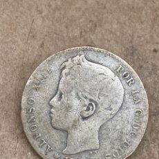 Monedas de España: MONEDA DE PLATA UNA PESETA 1900. Lote 289426328
