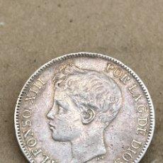 Monedas de España: MONEDA DE PLATA 5PESETAS 1898. Lote 289436123