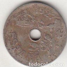 Monedas de España: ALFONSO XIII. 25 CÉNTIMOS 1927. CIRCULADA.. Lote 289504268