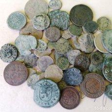 Monedas de España: LOTE 55 MONEDAS DE TODAS LAS EPOCAS. Lote 289561248