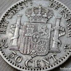 Monedas de España: ALFONSO XIII. 50 CÉNTIMOS. 1900. MBC. Lote 289571473