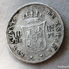 Monedas de España: ALFONSO XII 10 CENTAVOS 1885 MANILA. MBC-. Lote 289583553