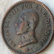 Monedas de España: ALFONSO XIII 2 CÉNTIMOS 1912 EBC. Lote 289613628