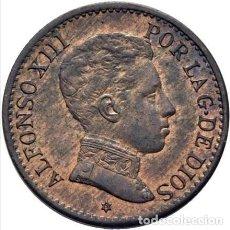 Monedas de España: ALFONSO XIII 1 CÉNTIMO 1906*6. SLV. SC.. Lote 289620628