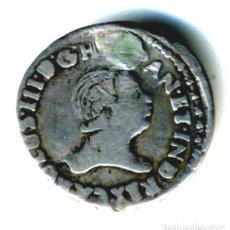Monedas de España: XS- GUATEMALA CARLOS III MEDALLA PROCLAMACIÓN 1760 MÓDULO 1/2 REAL RARÍSIMA PLATA. Lote 289944028