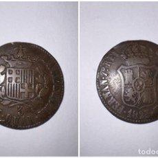 Monedas de España: MONEDA. CATALUÑA. FERNANDO VII. 3 CUARTOS. 1823. VER FOTOS. Lote 291171373