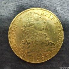 Monedas de España: CARLOS III D.G. ORO 22KTS. PESA 27,07 GRAMOS. AÑO DE EMISION 1787.. Lote 291514548