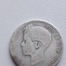 Monedas de España: 1900 ALFONSO XIII 1 PESETA PLATA. Lote 292070708