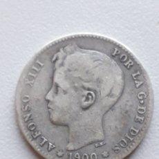 Monedas de España: 1 PESETA 1900 ALFONSO XIII PLATA ESPAÑA. Lote 292070928