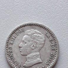 Monedas de España: 50 CÉNTIMOS 1904 * 10 ALFONSO XIII PLATA. Lote 292072398