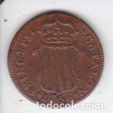 Monedas de España: MONEDA DE 1 ARDITE DE FERNANDO VI DE CATALUÑA DEL AÑO 1756 - COBRE. Lote 292219843