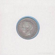 Monedas de España: MONEDAS - ALFONSO XIII - 50 CÉNTIMOS 1896 - 9-6 PG-V - PG-43 (MBC-). Lote 292338598