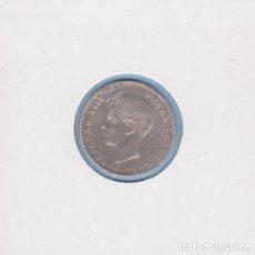 Monedas de España: MONEDAS - ALFONSO XIII - 50 CÉNTIMOS 1896 - 9-6 PG-V - PG-43 (MBC-). Lote 292338708
