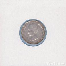 Monedas de España: MONEDAS - ALFONSO XIII - 50 CÉNTIMOS 1889 - 8-9 M.P.-M - (MBC). Lote 292339633