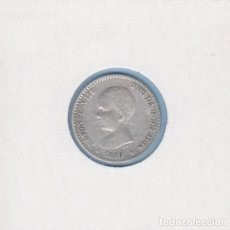 Monedas de España: MONEDAS - ALFONSO XIII - 50 CÉNTIMOS 1889 - 8-9 M.P.-M - (MBC). Lote 292339688